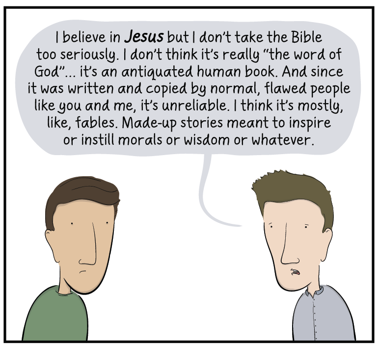 Everyone who identifies as a Christian believes in inerrancy to some degree