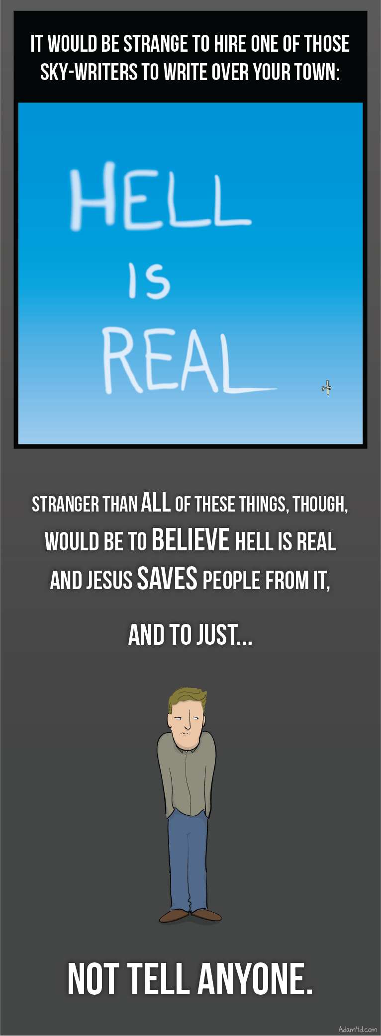 Next in line: believing there's any real biblical case for its nonexistence