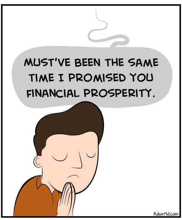 Man, I'm believing you for improved theology. JK no I'm not