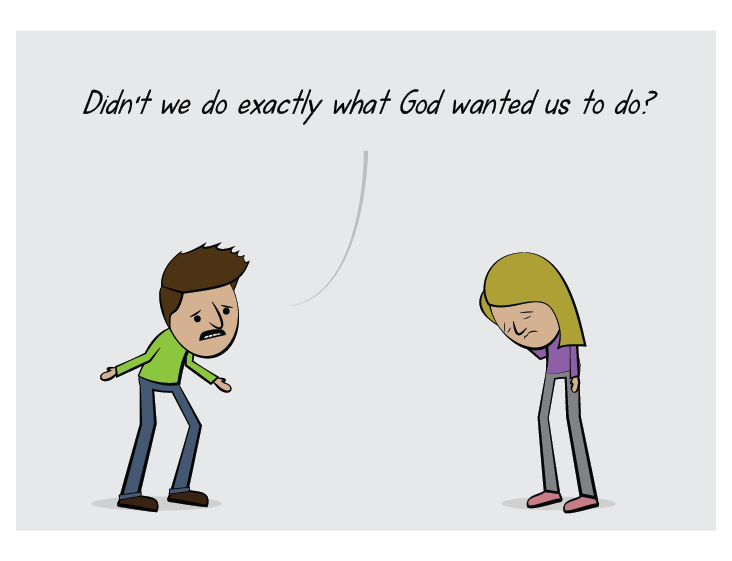 Christian cartoon strip