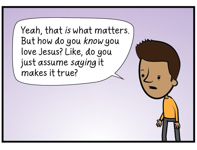 1 John 2:4