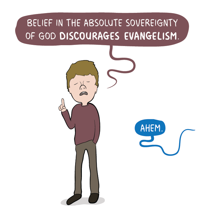 So far from making evangelism pointless, the sovereignty of God in grace is the one thing that PREVENTS evangelism from being pointless. -J.I. Packer