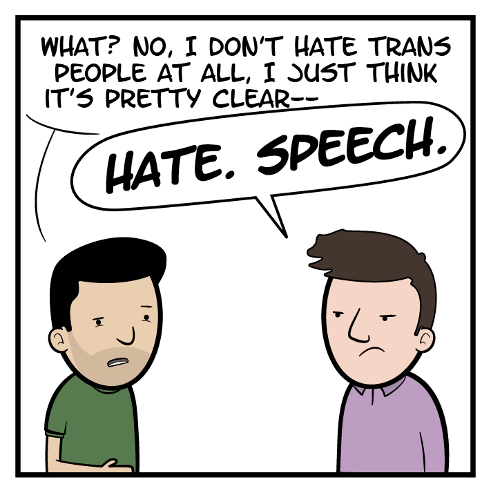 Consider the probable long-term effects of many people labeling as 'hate speech' things that are not actually hate speech.